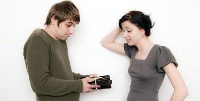 Любовь или деньги в отношениях